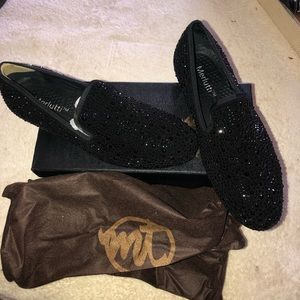 82c98d2a1d6 Merlutti Shoes - Men s Crystal suede loafers